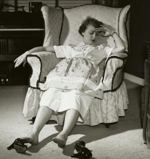 frazzledwoman-vintage-photo